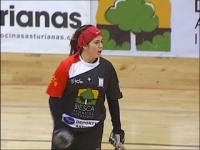 Luchi, en su etapa en el Biesca Gijón
