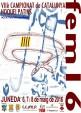 Cartell VII Campionats Catalunya fem16 Juneda 2016